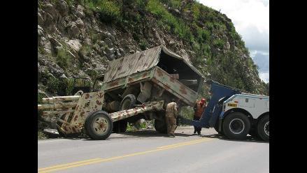 Junín: Choque y vuelco de bus deja 15 heridos en Carhuamayo