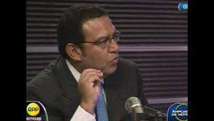 Ministro Otárola deplora declaraciones de Gabriel
