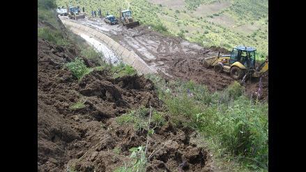 Áncash: Deslizamiento de cerro afecta 600 hectáreas de cultivos