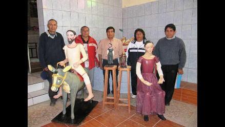 Cusco: Culminaron restauración de esculturas de capilla de Huayoccari