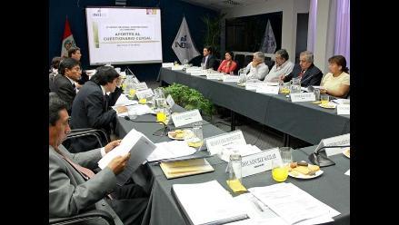 Comisión Consultiva aprobó cedula para censo experimental agrario
