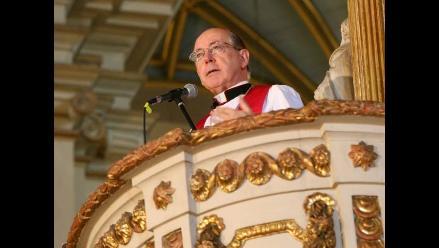 Cardenal Juan Luis Cipriani analiza viabilidad del proyecto Conga