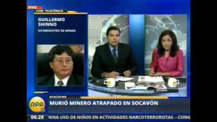 Paralizan actividades en cerro Luicho tras muerte de minero