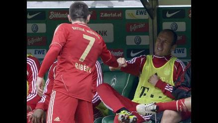 Franck Ribery y Arjen Robben limaron asperezas tras pelea