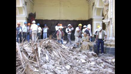 Anuncian inicio de trabajos de conservación de la Catedral de Ica