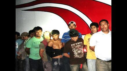 Barranca: Capturan a 13 integrantes de banda ´Los Piratas de Pativilca´
