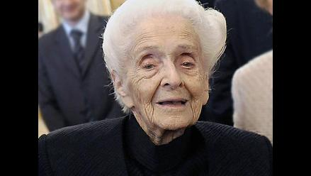 Premio nobel italiana Rita Levi-Montalcini cumple 103 años