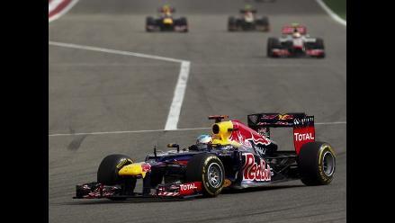 Sebastian Vettel se lleva el Gran Premio de Baréin en la Fórmula Uno
