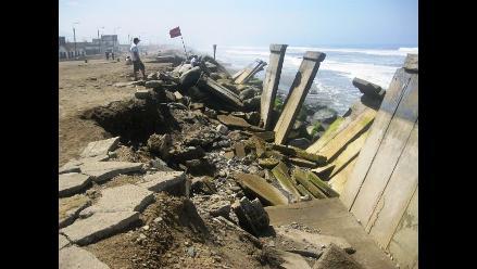 Trujillo: Prevén obras en junio en playas afectadas por erosión