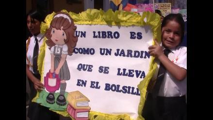 Trujillo: Colegios celebraron el´Día Internacional del Libro´