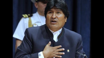 Evo Morales en reposo por una fuerte infección