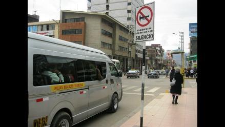 Huancayo: Inician sensibilización contra ruidos urbanos nocivos
