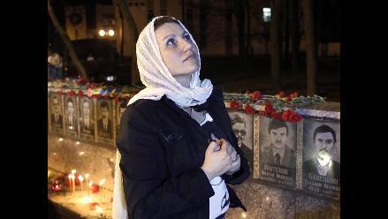 Ucrania recuerda a las víctimas de la tragedia de Chernóbil