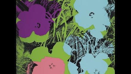 La serigrafía ´Flores´ de Warhol, vendida en Nueva York por 266.500 dólares