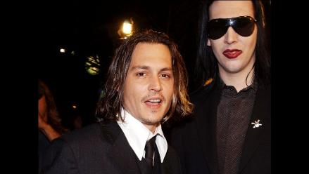 Johnny Depp colaboró con Marilyn Manson en ´You´re So Vain´´