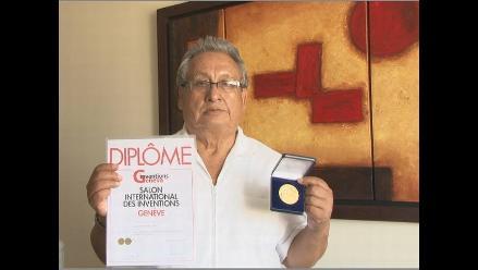 Médico de 73 años gana Medalla de Oro en Mundial de Inventos