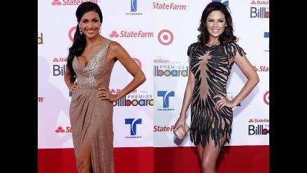 Las más sexys de la alfombra roja del Billboard Latino