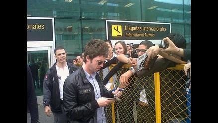 Noel Gallagher ya está en Lima