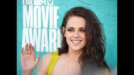 Kristen Stewart recibió premio MTV al Mejor Beso sin Robert Pattinson