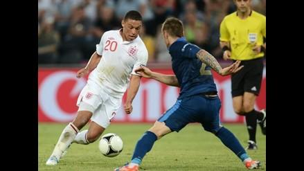 Francia e Inglaterra igualan en primer choque del grupo D de la Euro