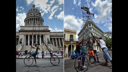 Cubano quiere romper récord a la bicicleta más alta del mundo