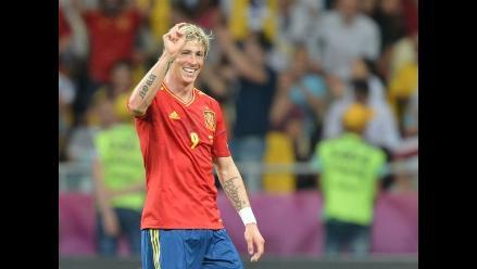 Español Fernando Torres logró la ´bota de oro´ de la Eurocopa 2012
