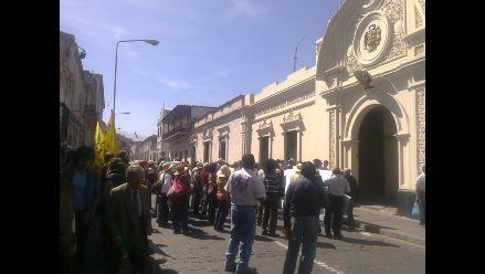 Arequipa: Agricultores del valle de Siguas realizan movilización