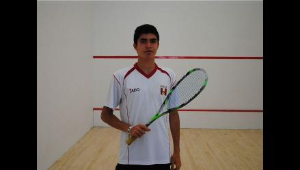 Peruano Diego Elías logró el oro en el Abierto de Squash de Holanda