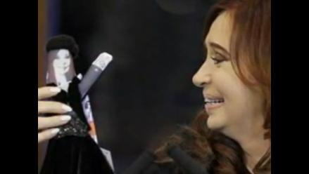 ´Cristinita´ Fernández, la muñeca de Argentina