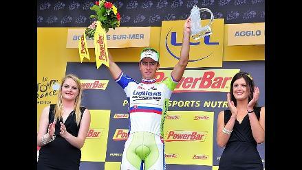 Peter Sagan vence en la tercera etapa del Tour de Francia 2012