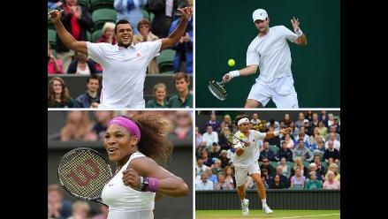 Aprecie lo mejor de los octavos de final de Wimbledon 2012 en imágenes
