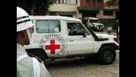 Delegados de la Cruz Roja llegan a Cajamarca