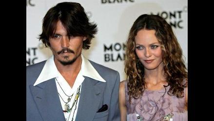 Celos laborales motivaron la ruptura entre Johnny Depp y Vanessa Paradis