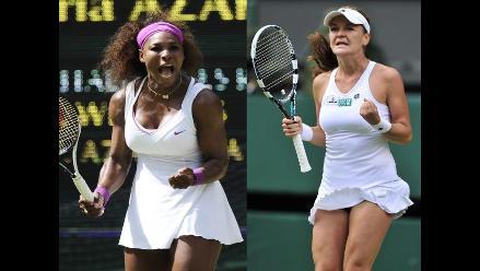 Serena Williams y Radwanska se medirán en la final femenina de Wimbledon