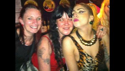 Lady Gaga celebró el ´4 de julio´ en un bar de Australia