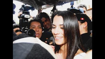 Sala ratifica que audios de Eva Bracamonte no se incluirán en juicio