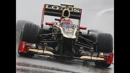 Romain Grosjean ganó primer entrenamiento libre en GP de Gran Bretaña