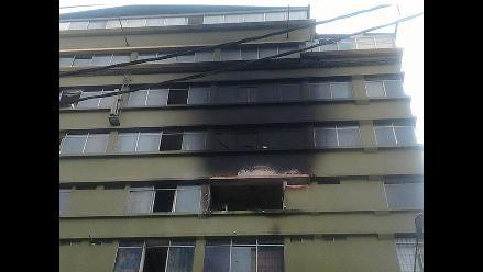 Así quedó galería de Gamarra tras incendio en la madrugada