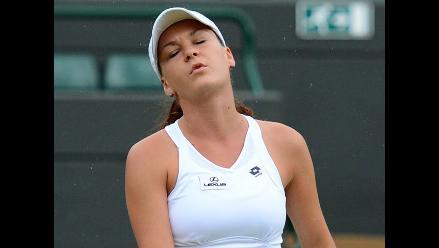 Agnieszka Radwanska se enferma en víspera de la final de Wimbledon