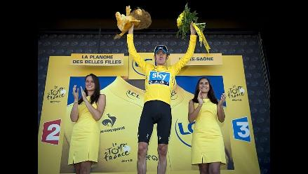 Bradley Wiggins líder del Tour de Francia tras correrse séptima etapa