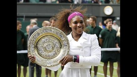 Serena Williams derrota a Radwanska y sale campeona en Wimbledon