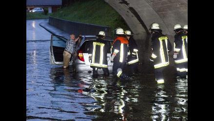 Mueren tres personas en el este de Alemania a causa del mal tiempo