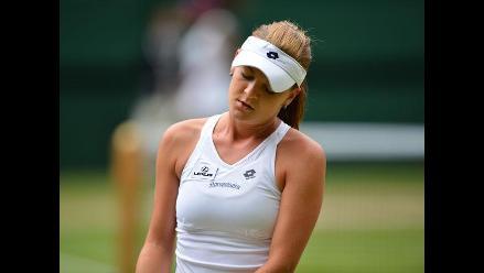 Agniezska Radwanska y su dolor tras perder la final de Wimbledon