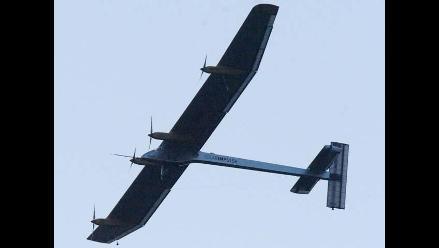 Avión solar vuela 4.000 kilómetros sin combustible