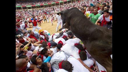 Cerca de 400 personas atendidas tras encierros de San Fermín