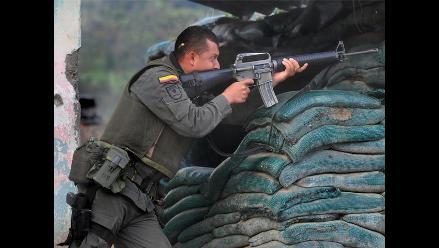 Fuertes combates entre FARC y policía en suroeste colombiano