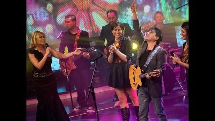 William Luna cantó ´Mi linda wawita´ en Operación Triunfo