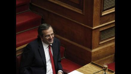 Gobierno de Samarás logra apoyo de la mayoría en el Parlamento griego