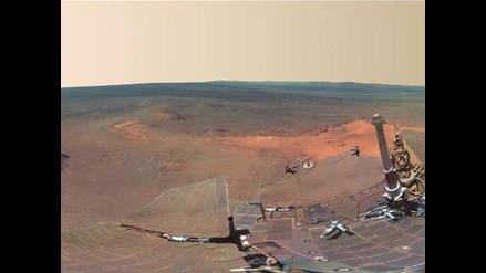 NASA muestra imagen de Marte