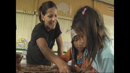 Charito de Al fondo hay sitio comparte con comunidades amazónicas